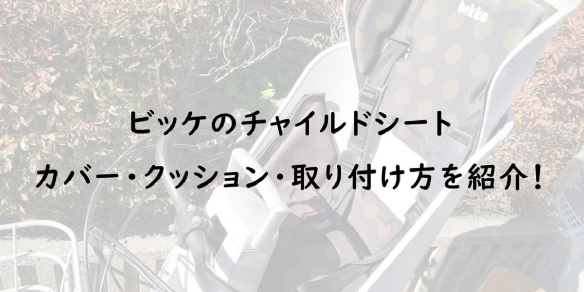 【大人気】ビッケのチャイルドシート!カバー・取り外し・クッションの気になる疑問を解決!