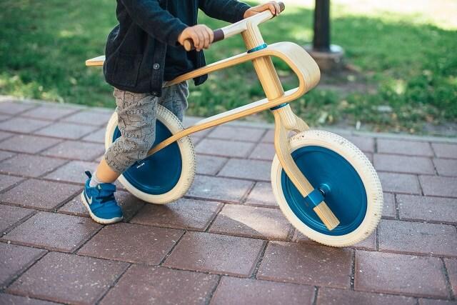 ストライダーから自転車デビューのタイミング