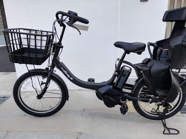 ヤマハの子供乗せ電動自転車