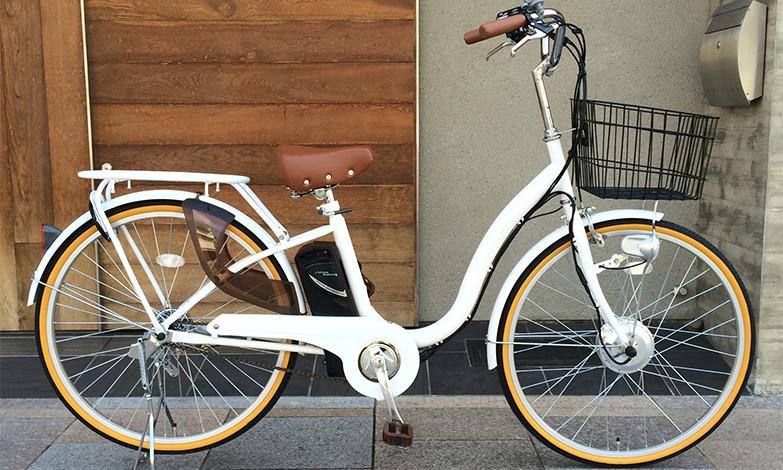 ルルベ「26インチ 子供乗せ電動自転車」