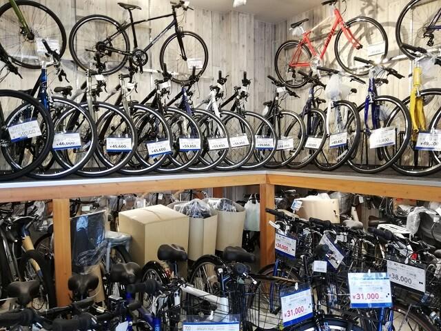 サイクルベースあさひとイオンバイクとの比較