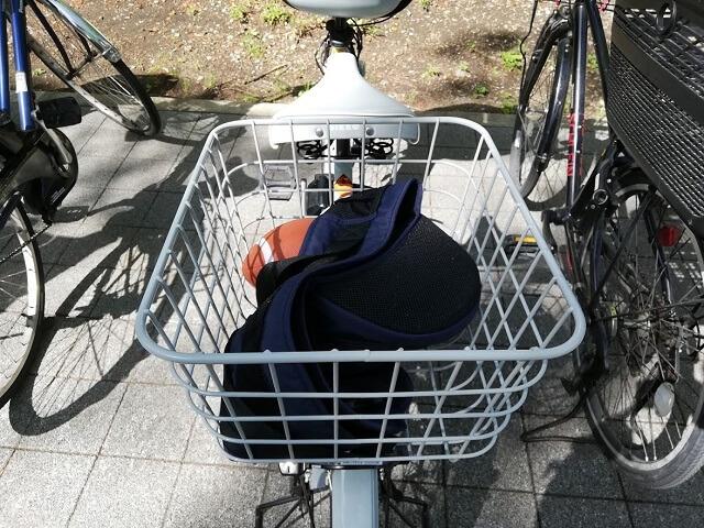 子ども乗せ電動自転車のカゴでよくある質問