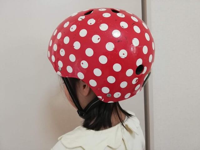 ナットケースのヘルメット