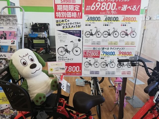 イオン限定自転車