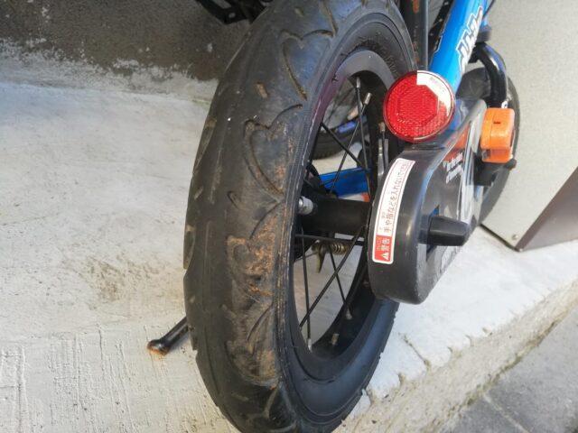 ディーバイクのタイヤ