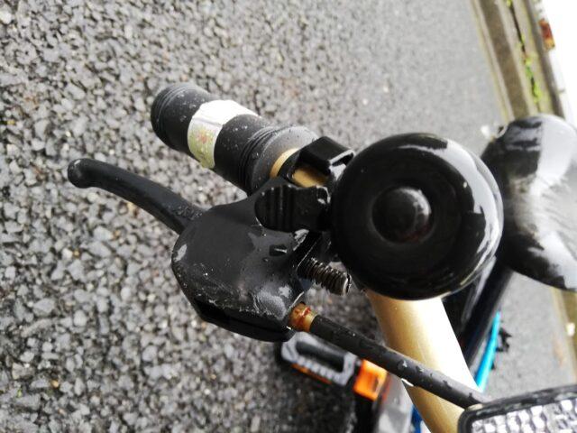 ディーバイクのブレーキ