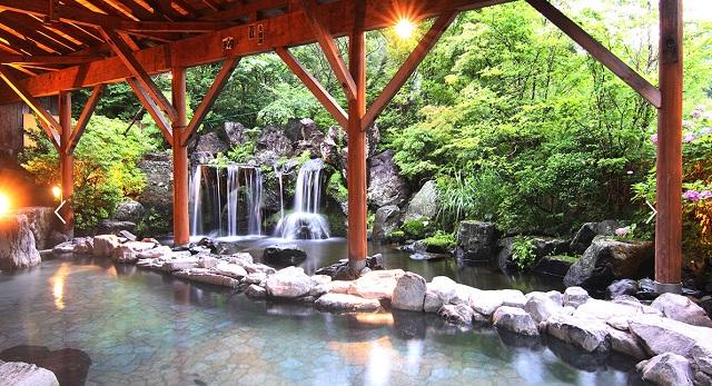 エピナール那須の温泉