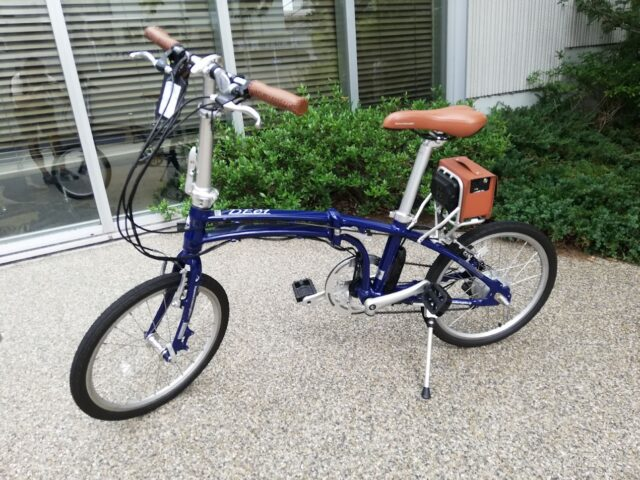 デイトナの電動自転車「DE01」