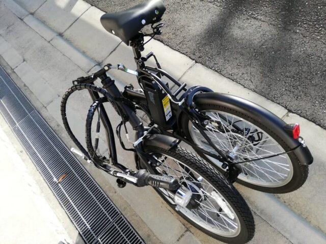 折りたたみできる電動自転車