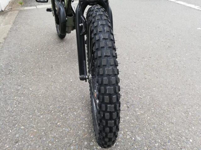 タイヤの太さ